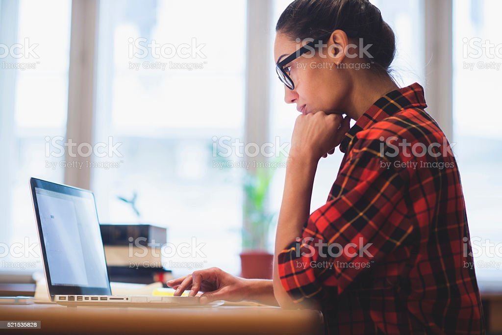 Working stock photo