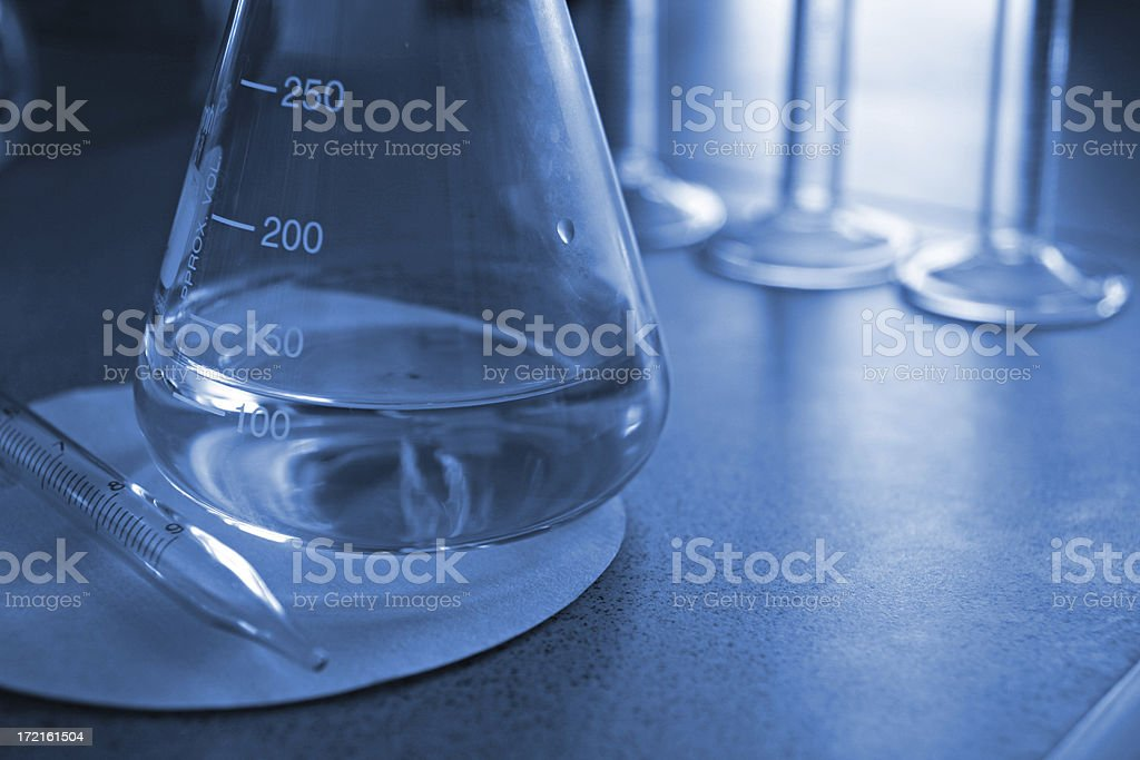 working place chemist stock photo