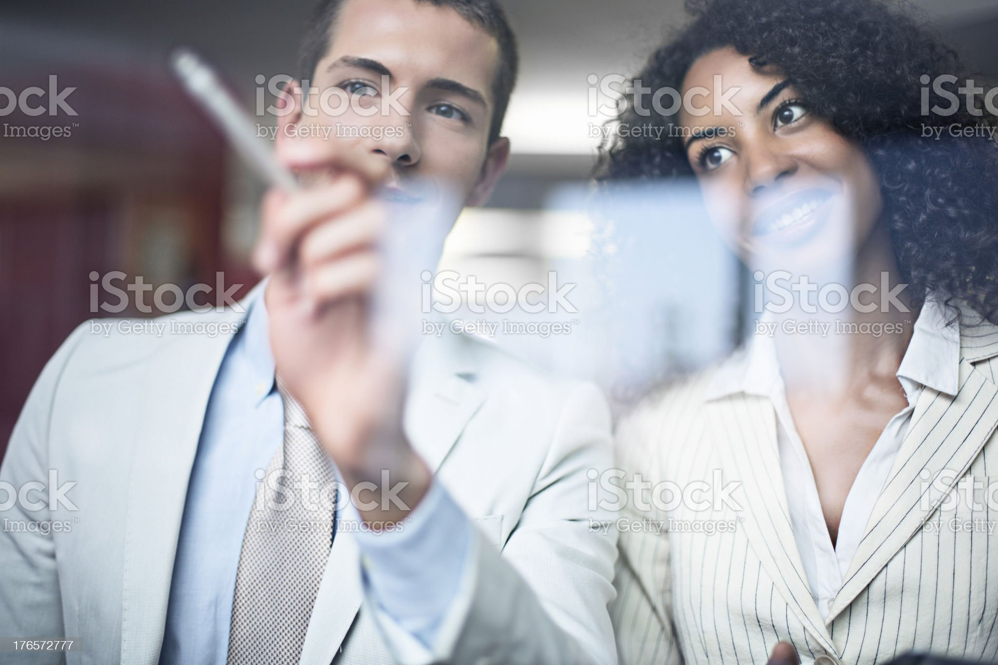 Working reflections royalty-free stock photo