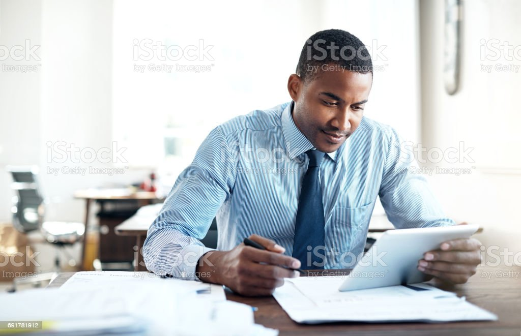 Working through strategies that tie in to market dynamics stock photo