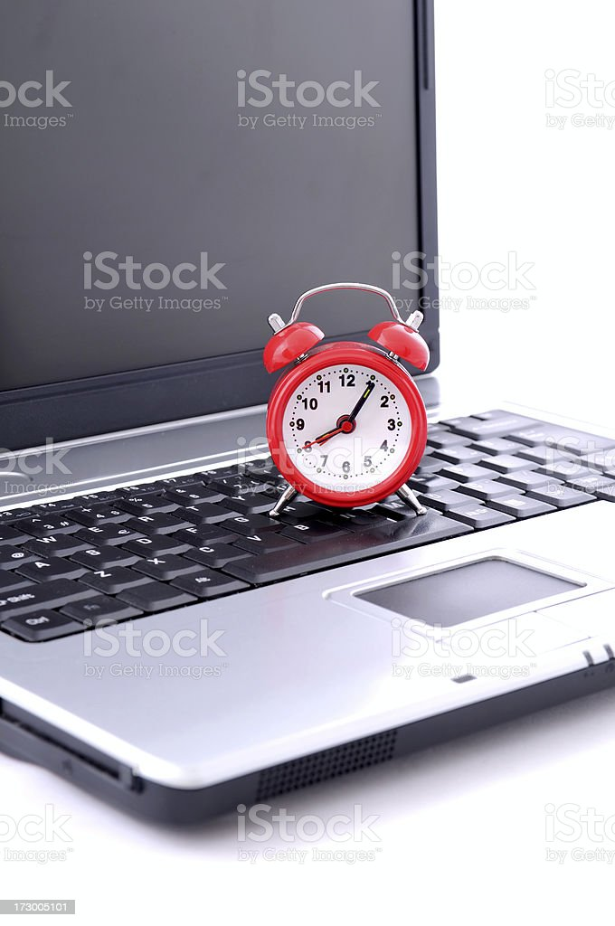 working time royalty-free stock photo