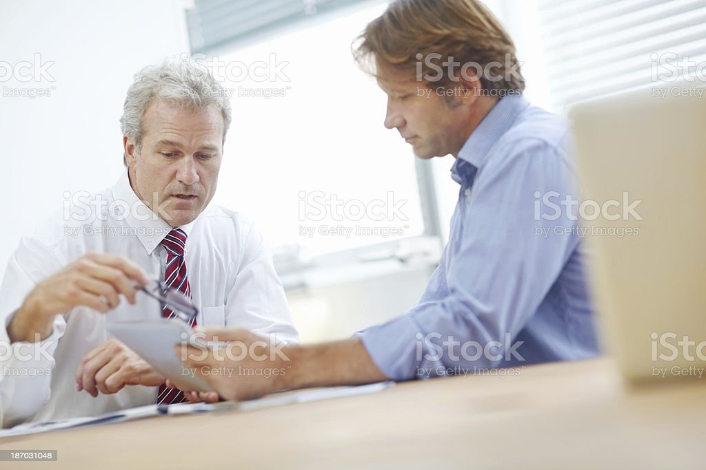Working together for better business royalty-free stock photo