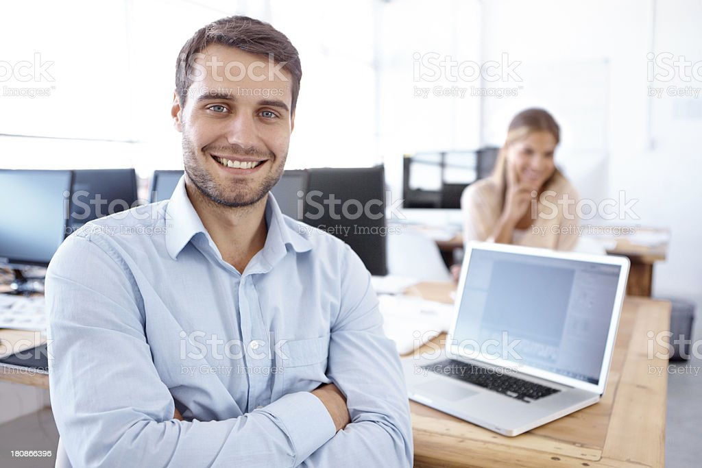 Working together to make your brand better! royalty-free stock photo