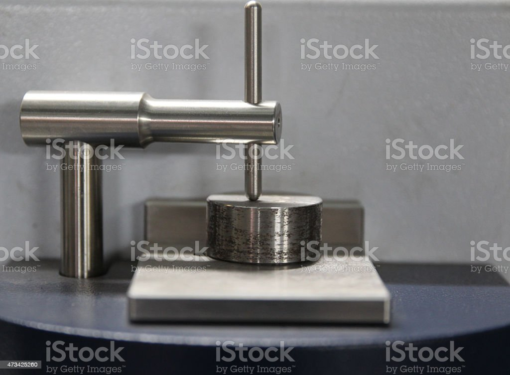 working tool spectrometer stock photo