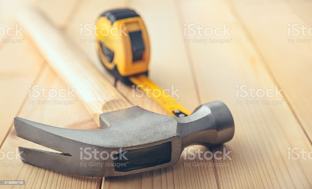 Working tools stock photo