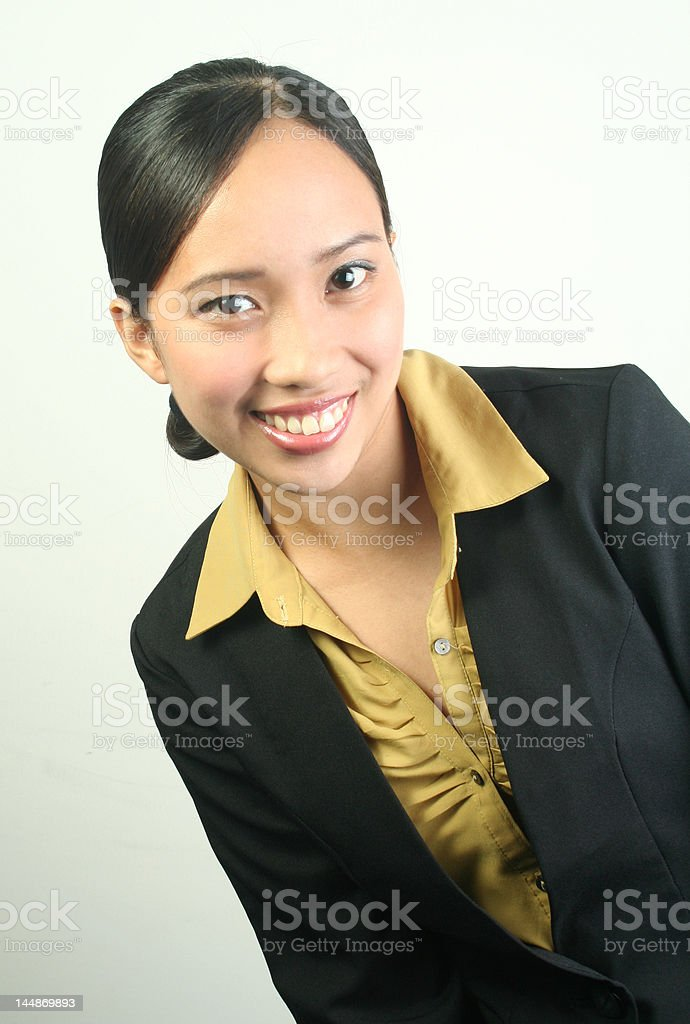 Working woman (series) royalty-free stock photo