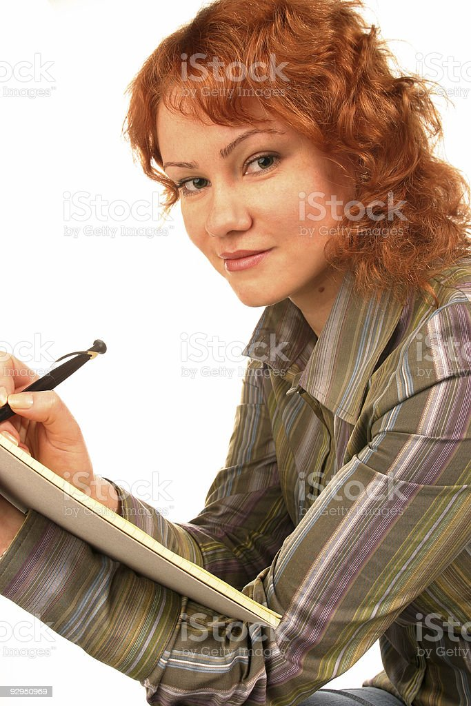 working young woman royalty-free stock photo