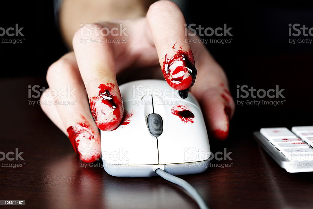 Working Your Fingers to the Bone royalty-free stock photo
