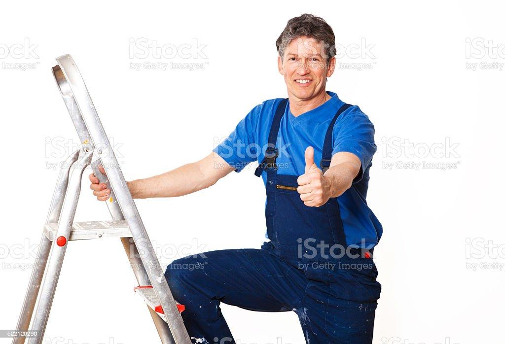workman stock photo