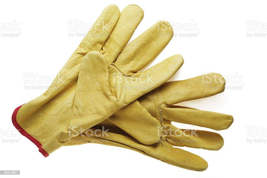 workman's gloves royalty-free stock photo