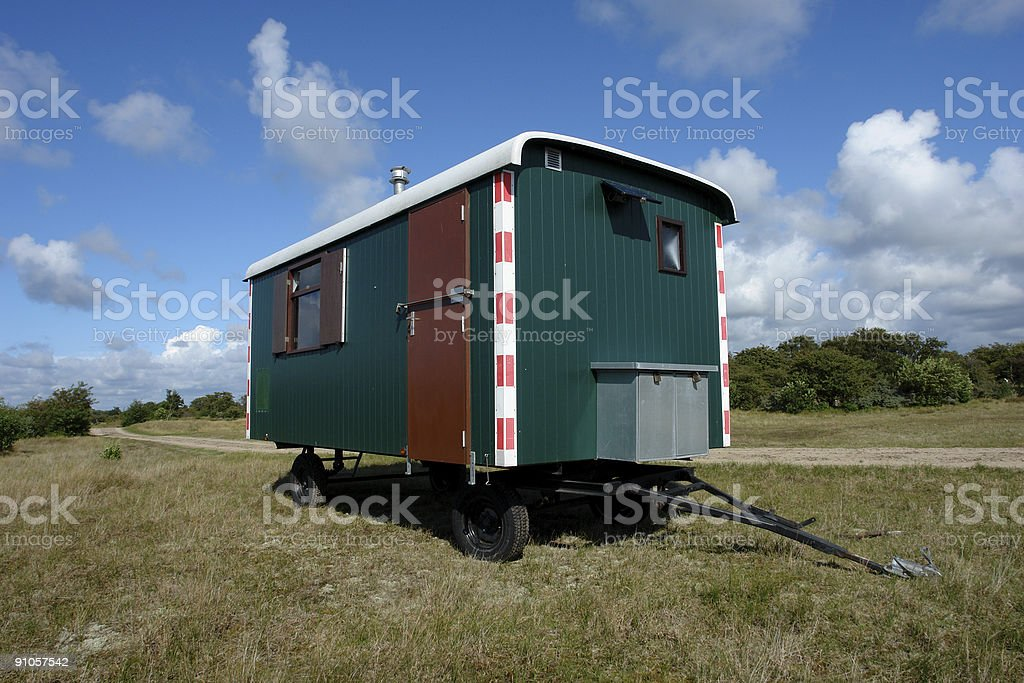 Workman's shelter royalty-free stock photo