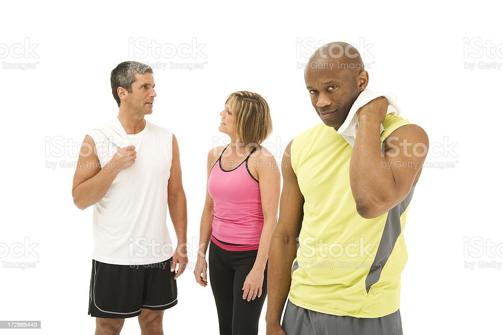 Workout Buddies royalty-free stock photo
