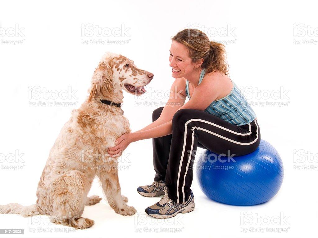 Workout Buddies royalty-free stock photo