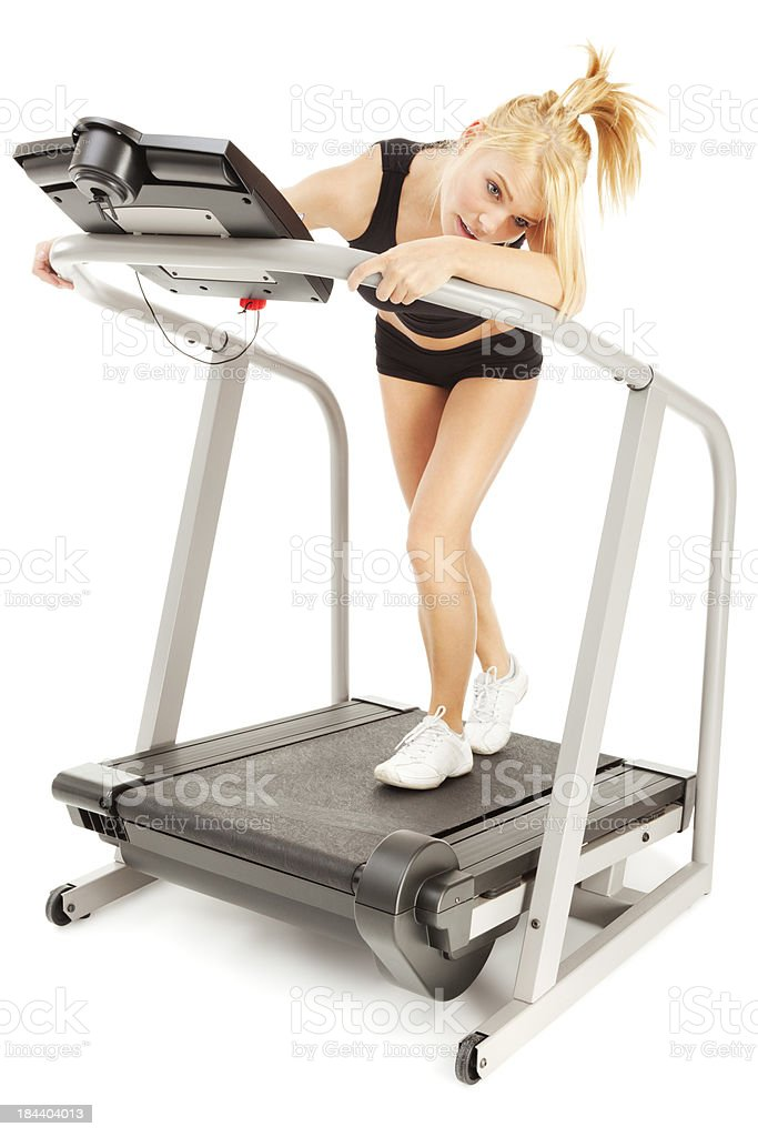 Workout Mysery royalty-free stock photo