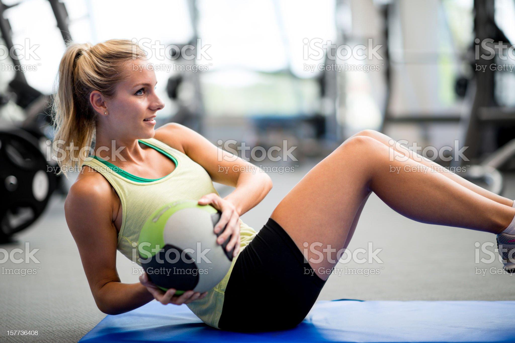 Workout royalty-free stock photo