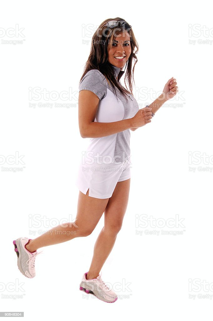 Workout Runner 2 royalty-free stock photo