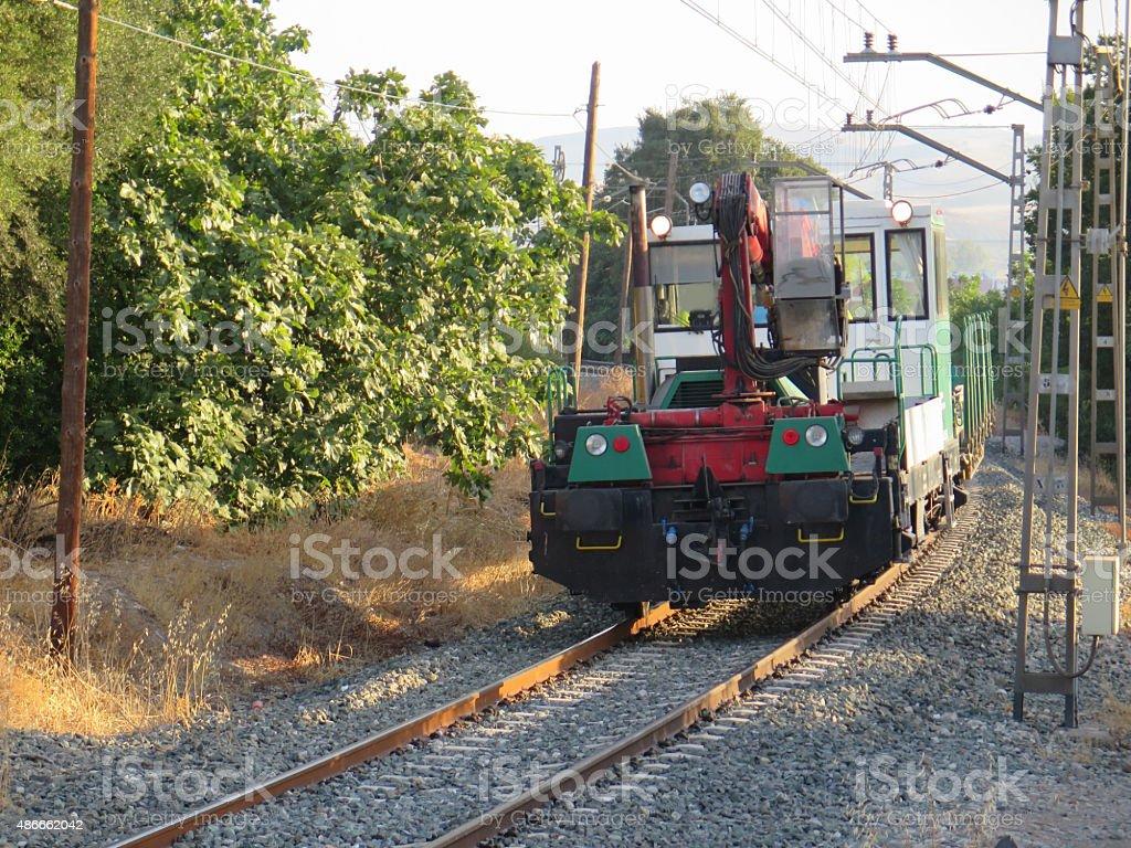 Works Train stock photo