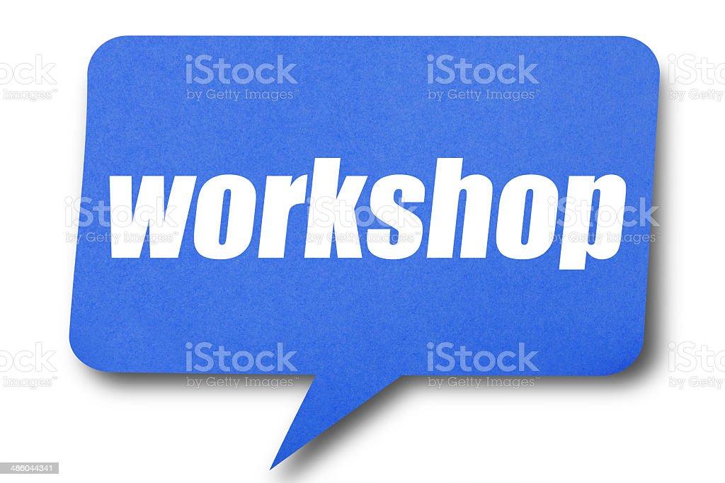 Workshop royalty-free stock photo