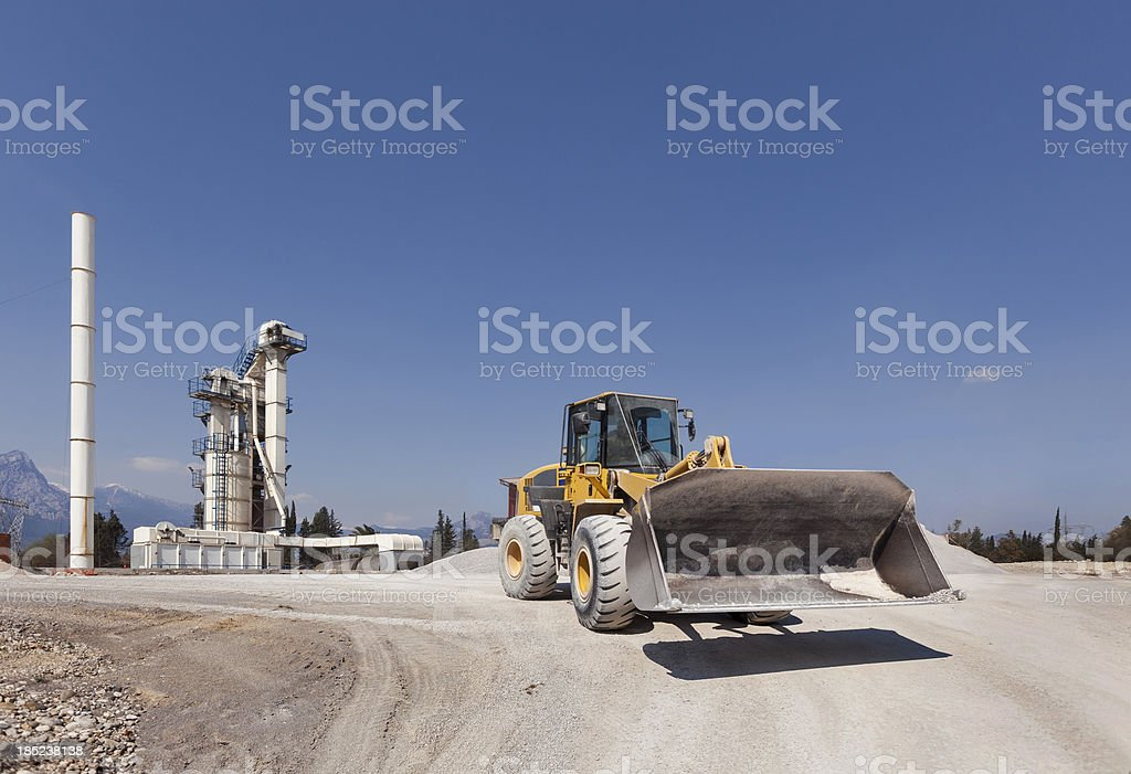 Worksite royalty-free stock photo