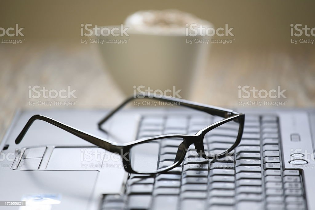Workspace royalty-free stock photo