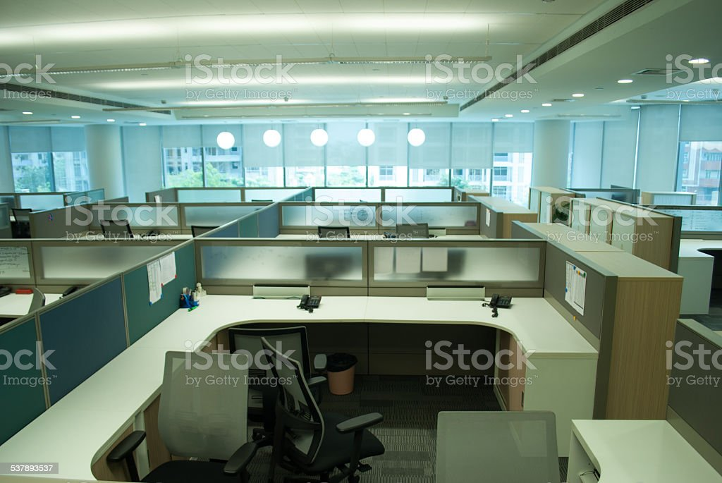 workstations stock photo