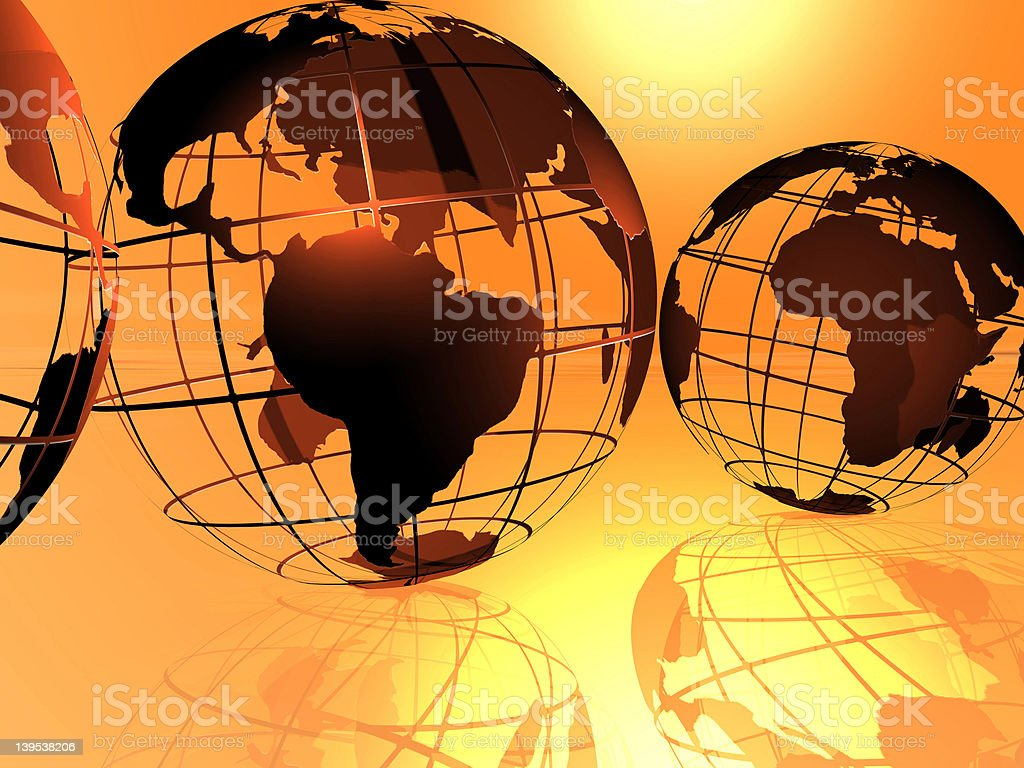 world and sky royalty-free stock photo