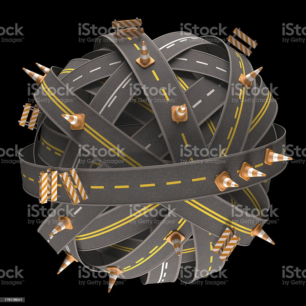 World Asphalt Sign royalty-free stock photo
