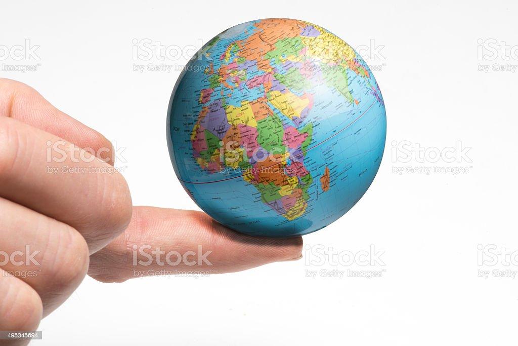 World balance stock photo