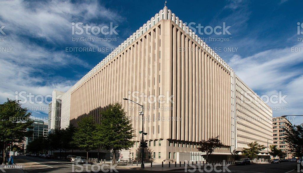World Bank HQ in Washington DC stock photo