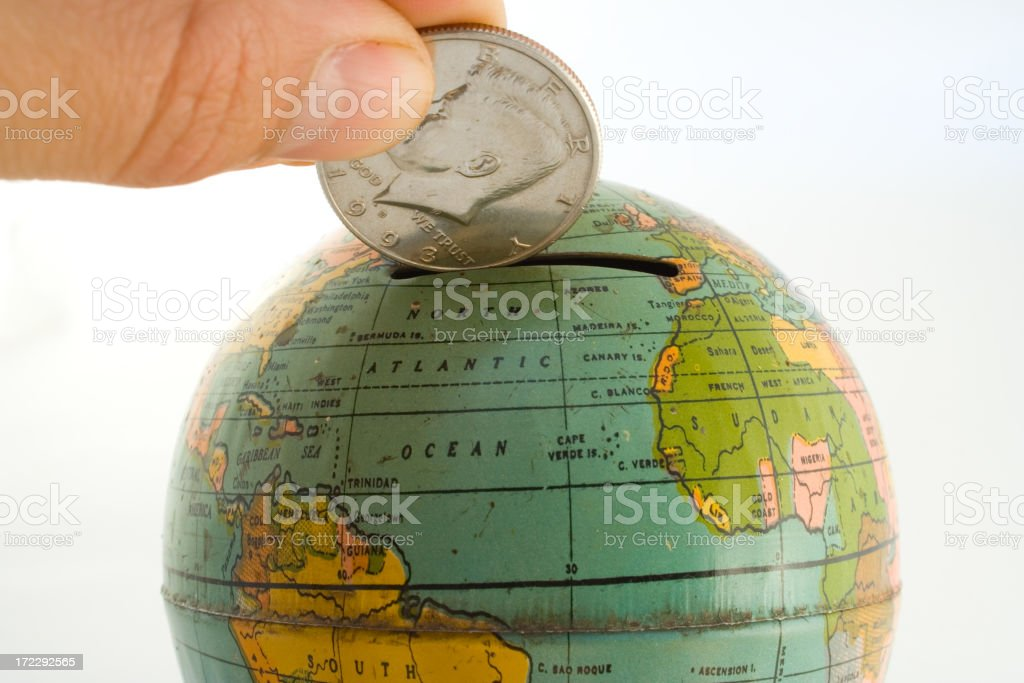 World bank royalty-free stock photo