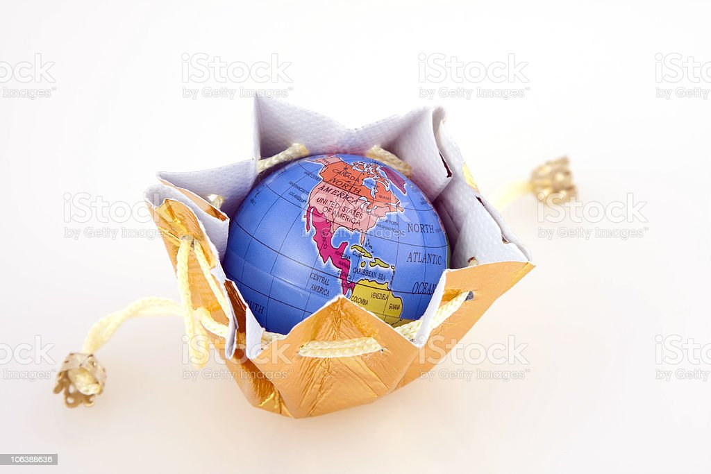 World belongs to you royalty-free stock photo