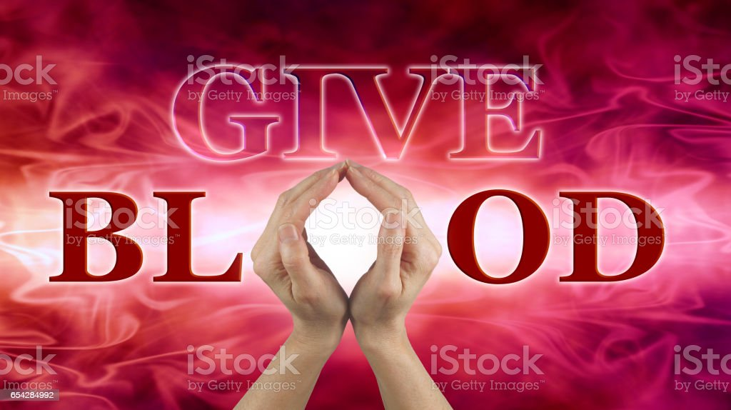 World Blood Donor Day June 14 stock photo