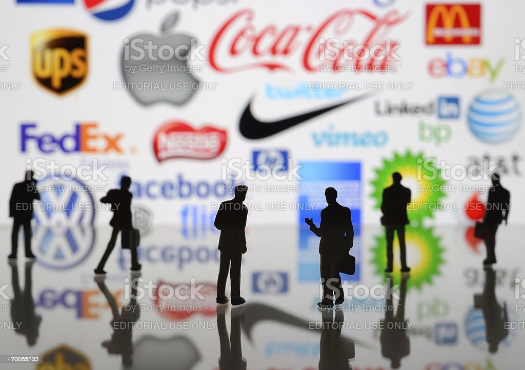 World brands royalty-free stock photo