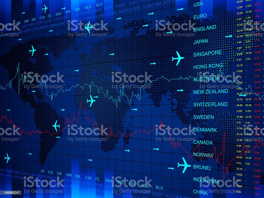 World Business Center royalty-free stock photo
