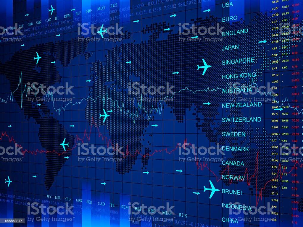World Business Center stock photo