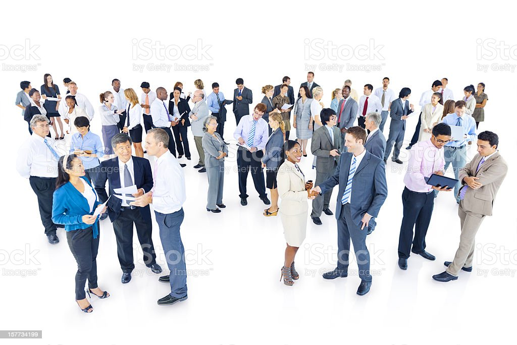 World Business People royalty-free stock photo