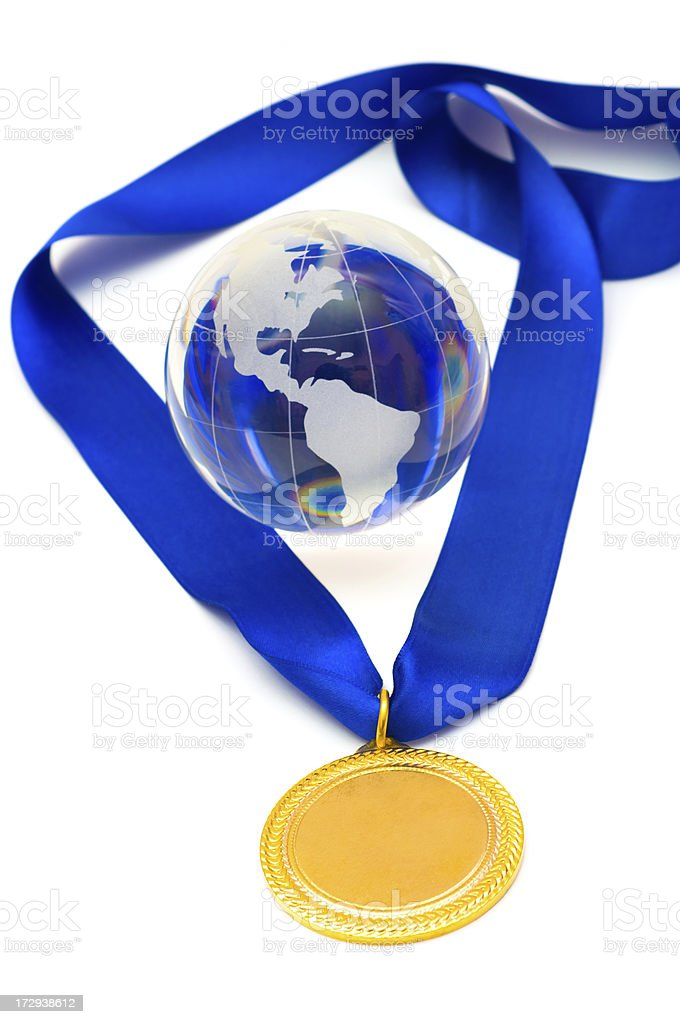 World Champion royalty-free stock photo
