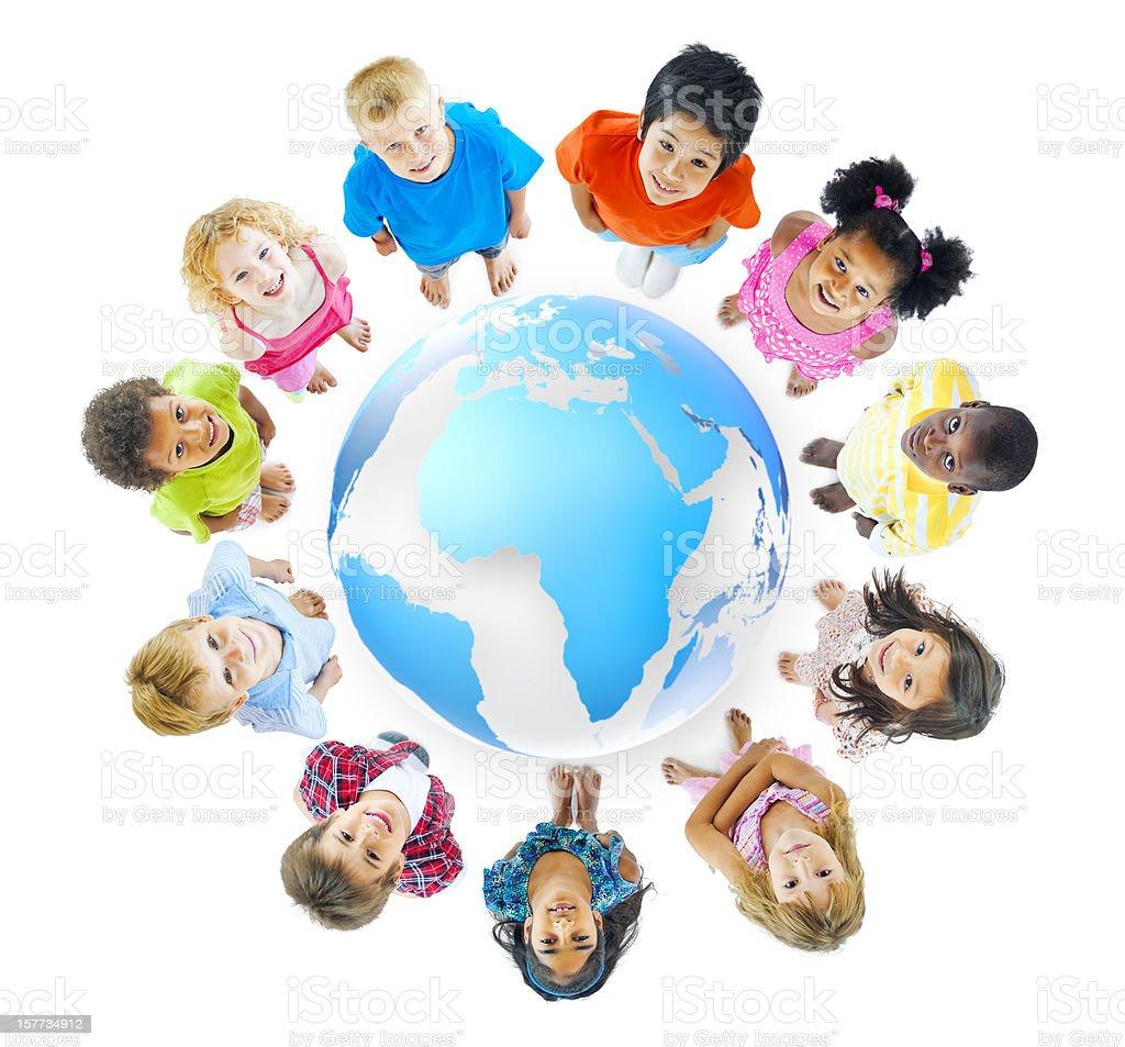 World Children royalty-free stock photo