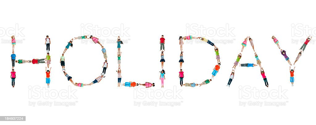 World Children Words. royalty-free stock photo