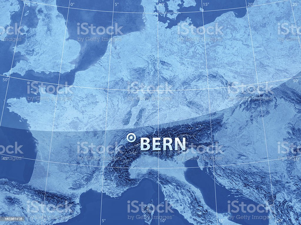 World City Bern royalty-free stock photo
