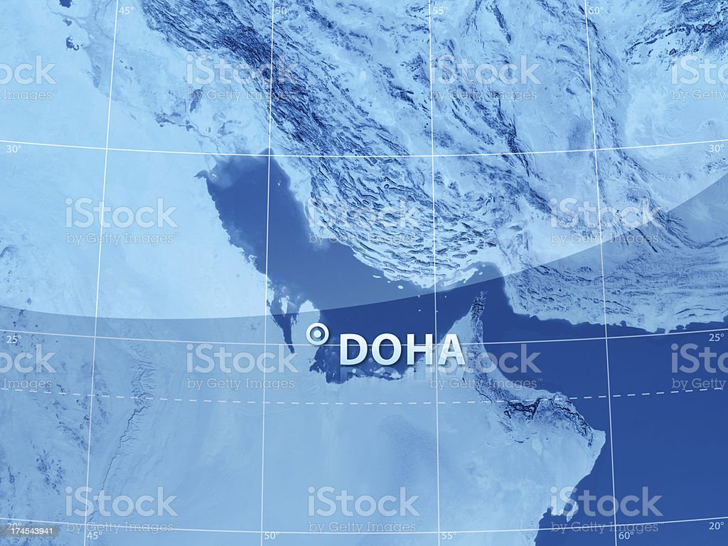 World City Doha stock photo