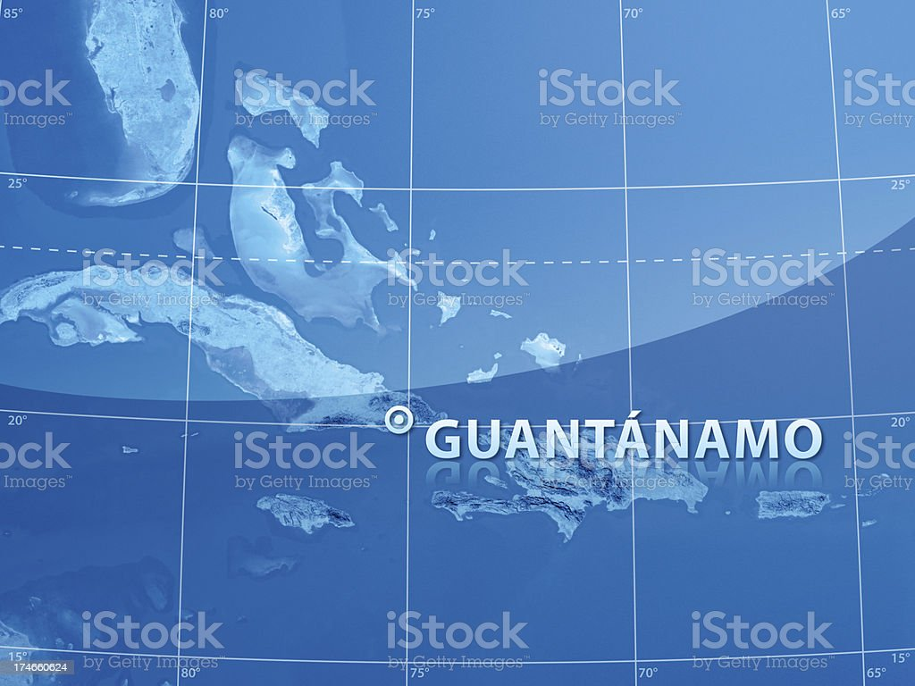World City Guantanamo stock photo