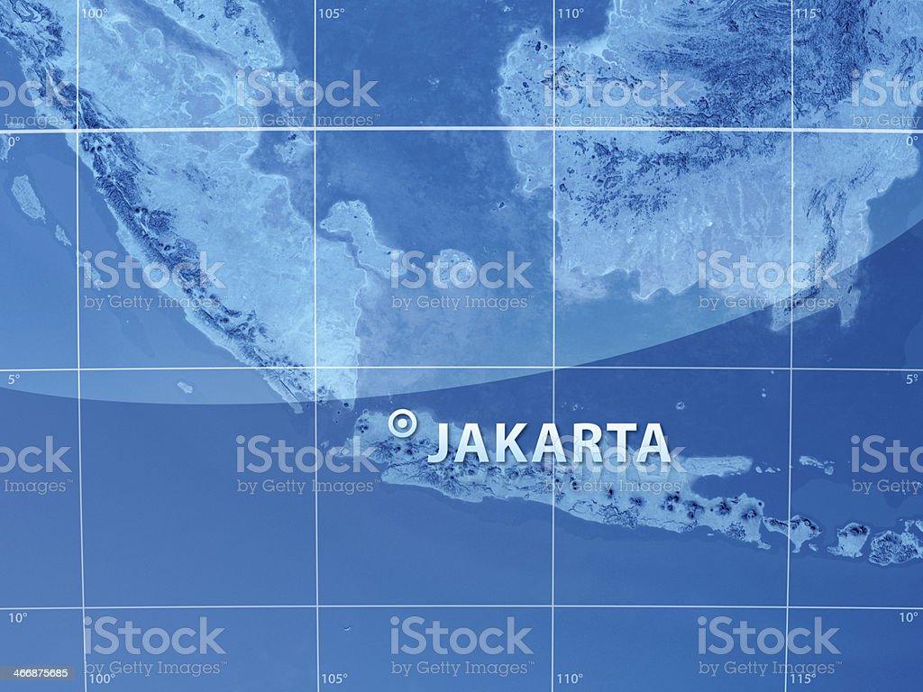 World City Jakarta stock photo