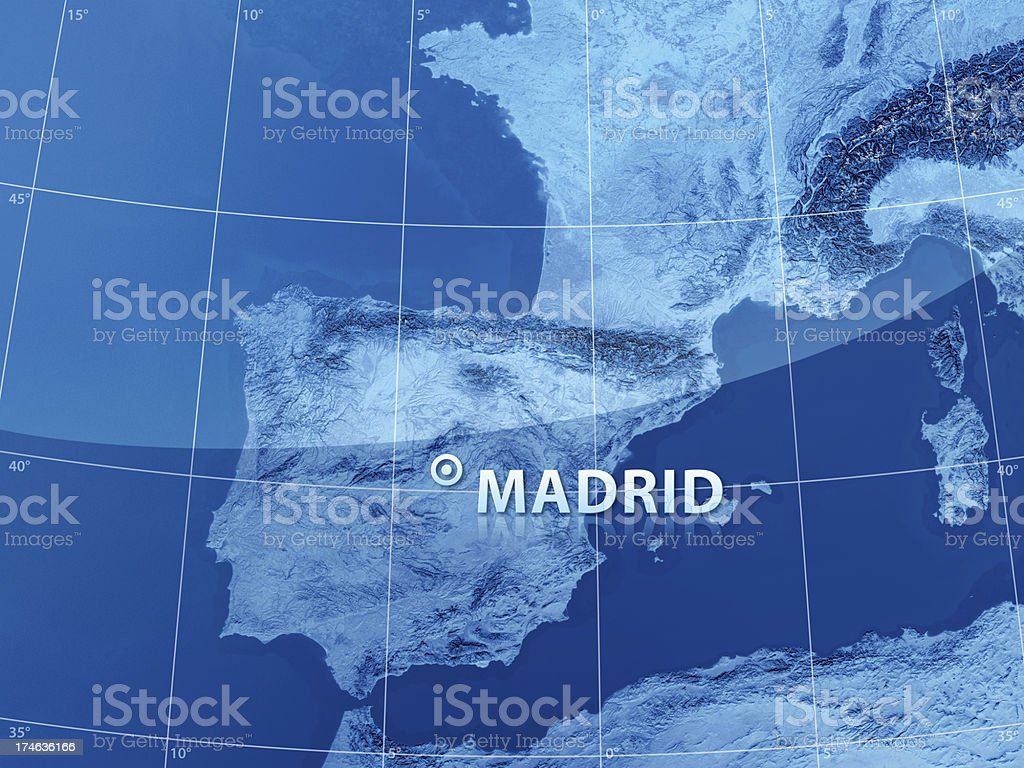 World City Madrid royalty-free stock photo