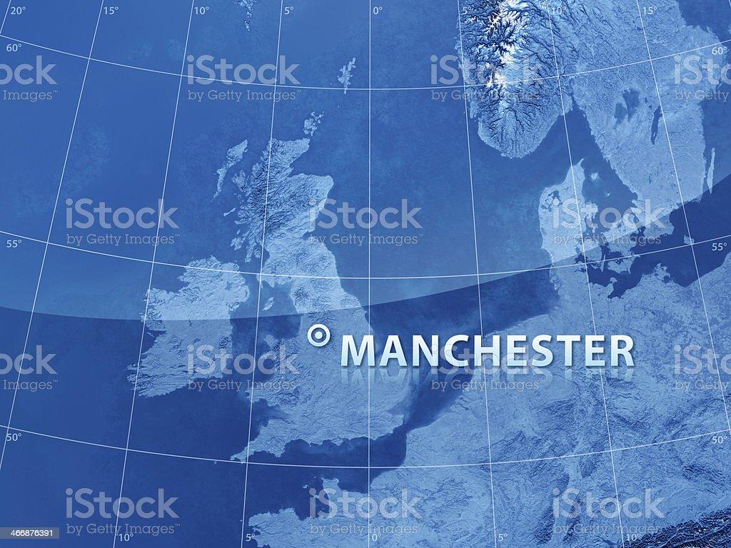World City Manchester royalty-free stock photo