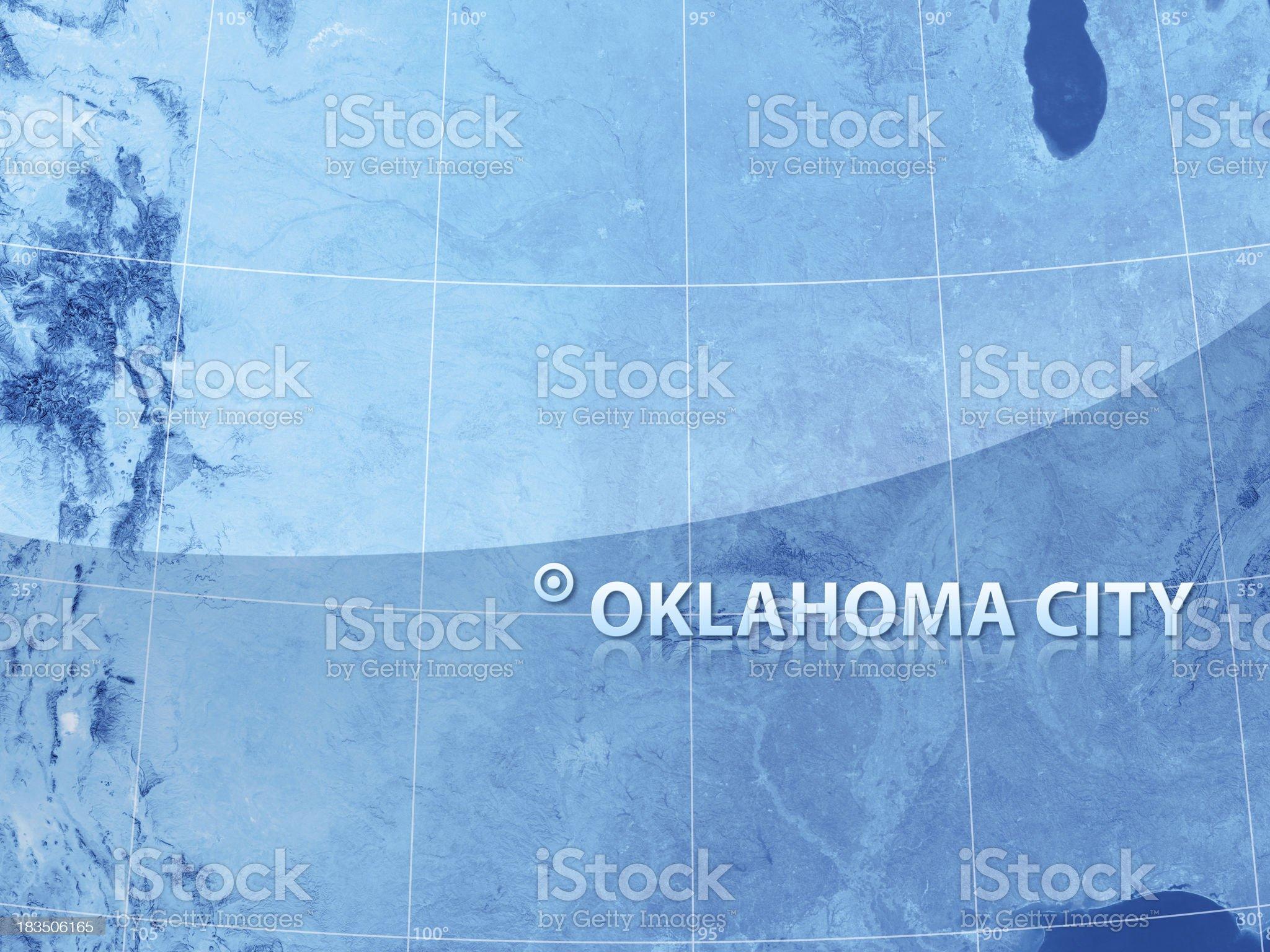 World City Oklahoma royalty-free stock photo