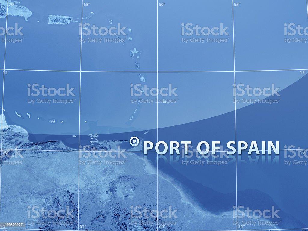 World City Port of Spain stock photo