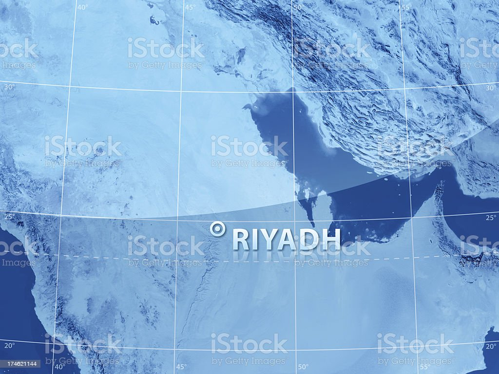 World City Riyadh royalty-free stock photo