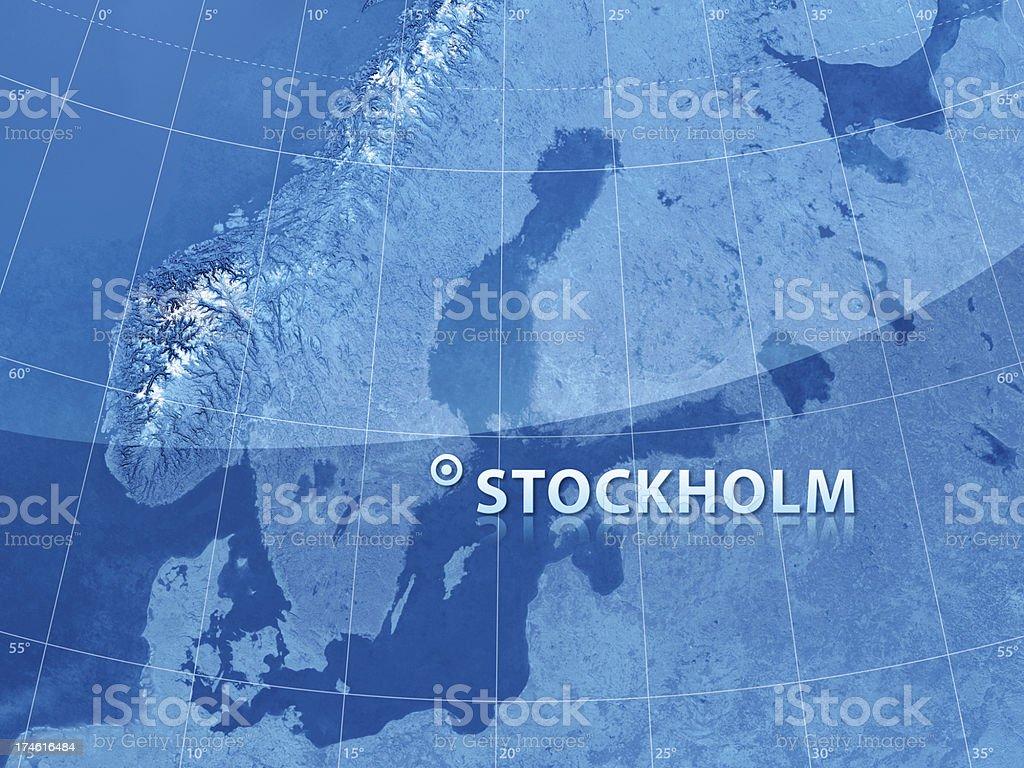World City Stockholm stock photo