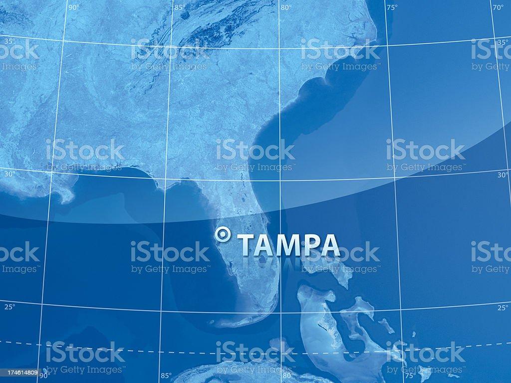 World City Tampa royalty-free stock photo